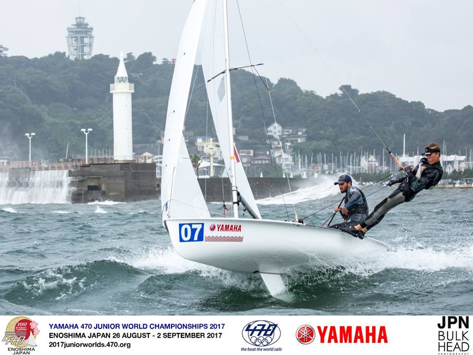 Day 4-470 Junior Worlds 31 August 2017 01