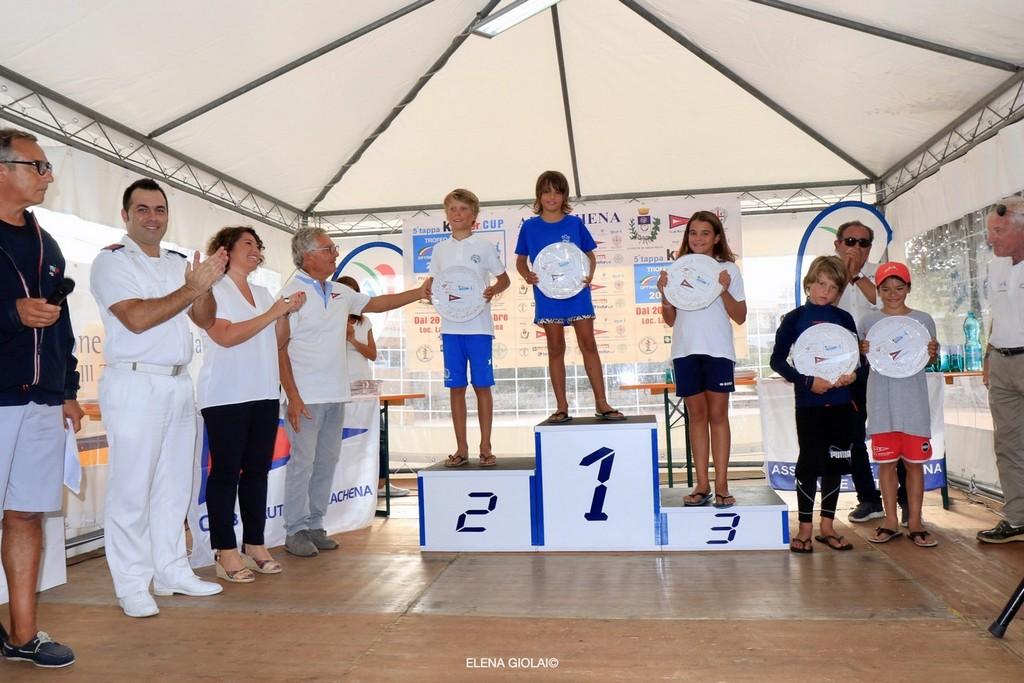5^ tappa Trofeo Optimist Italia Kinder + Sport 2019