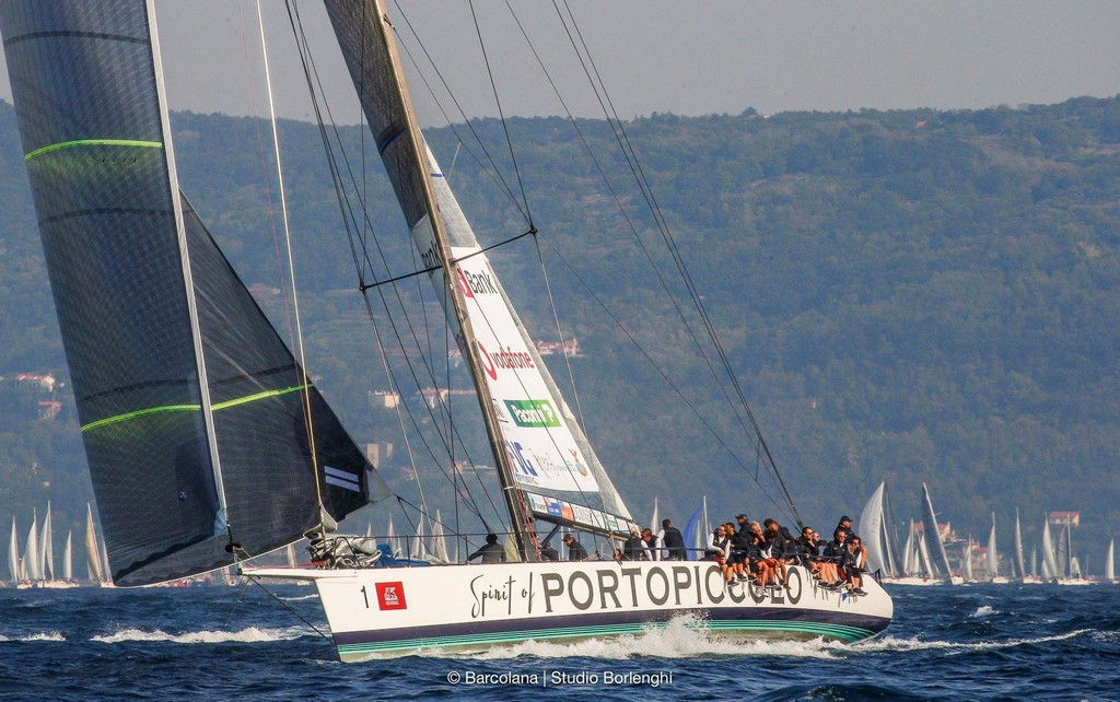 Barcolana 50 2018 regata 01