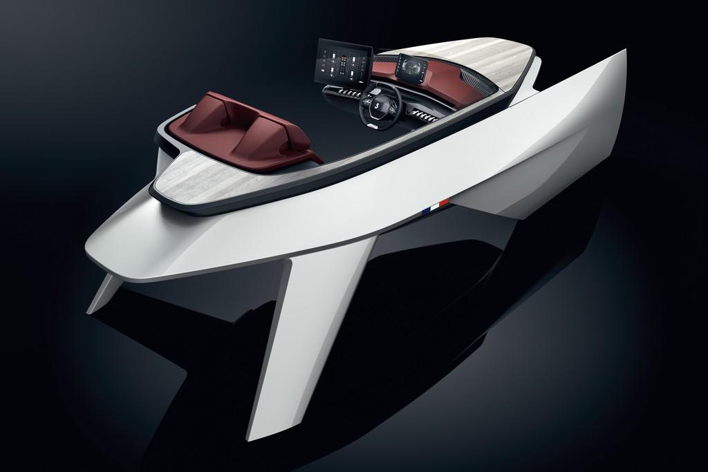 Beneteau Peugeot Sea Drive Concept 001