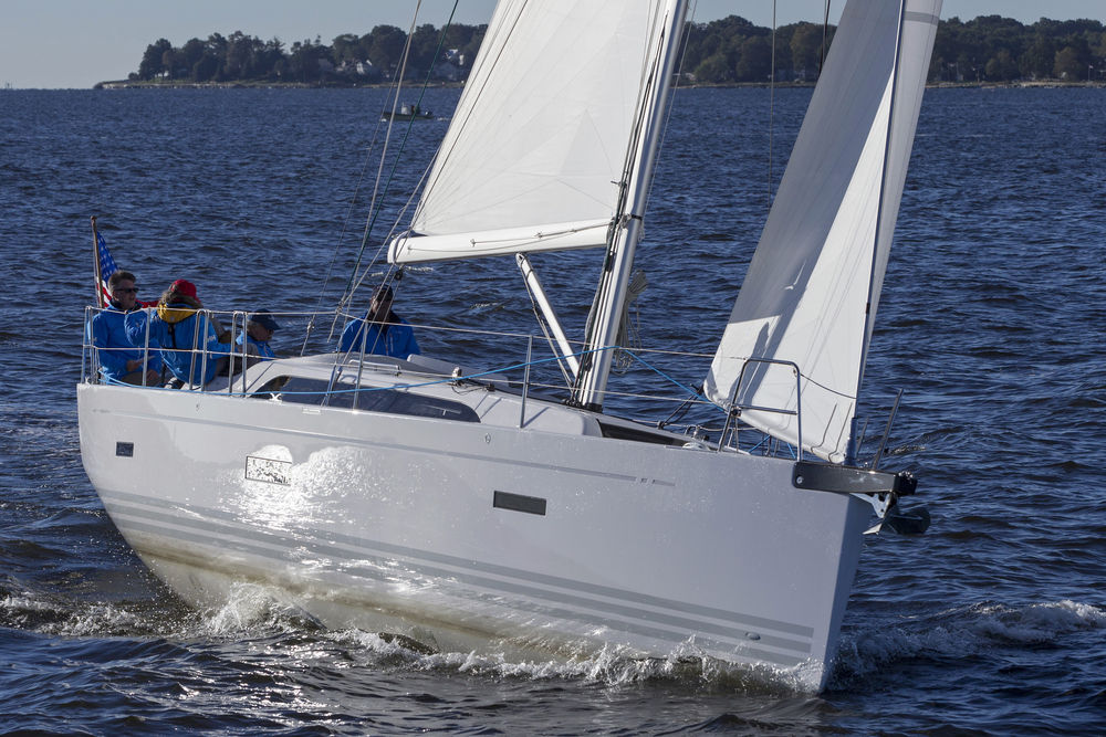 X Yachts X4 at the Annapolis Sailboat Show, Annapolis MD