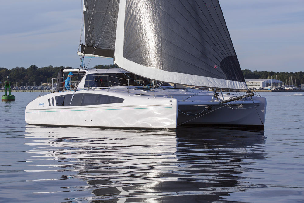 Seawind 1190 Sport at the Annapolis Sailboat Show, Annapolis MD