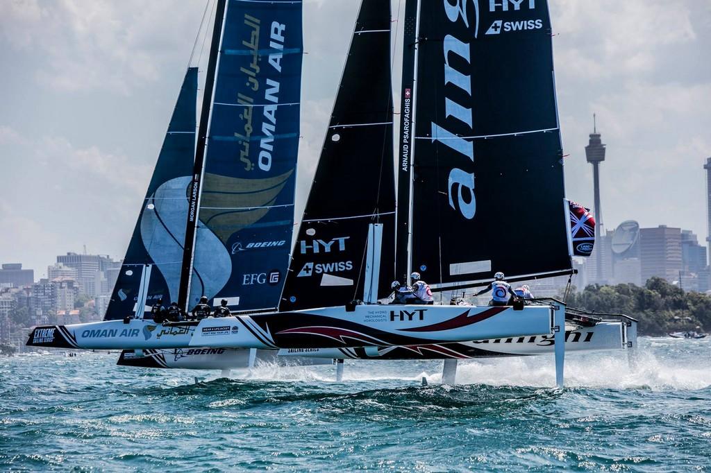 Extreme Sailing Series Sydney 2016 01