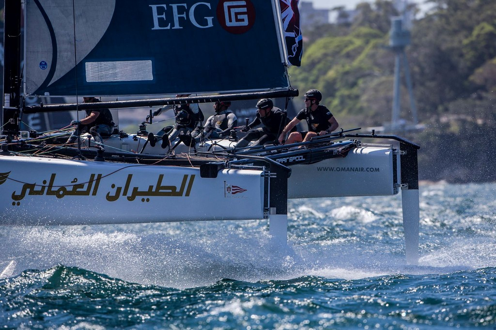 Extreme Sailing Series Sydney 2016 13