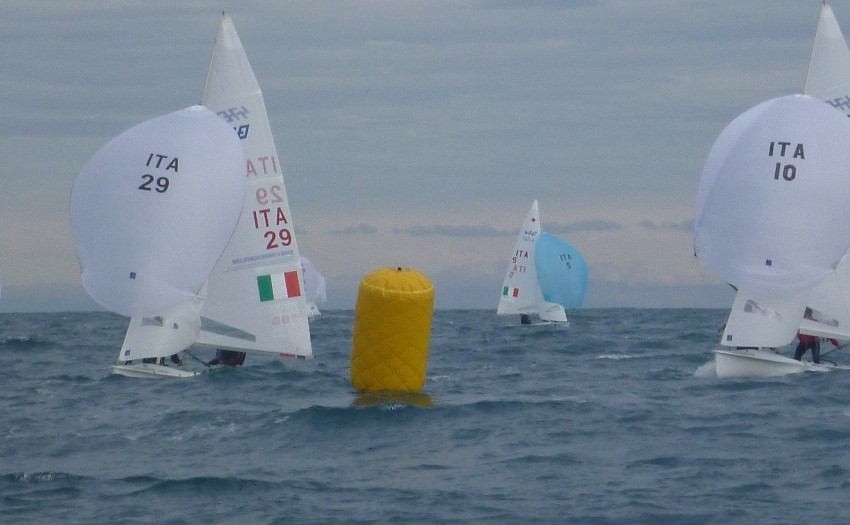Imperia Winter Regatta 2014 Day 1 01