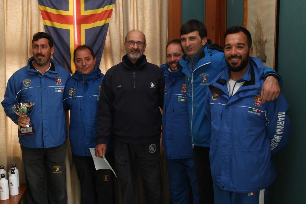 il vincitore Invernale equipaggio Ita 416 La Superba