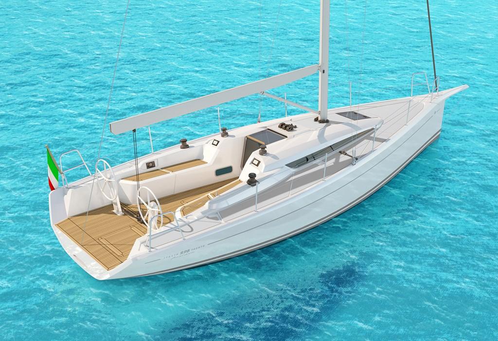 Italia Yachts 9-98 Club 01