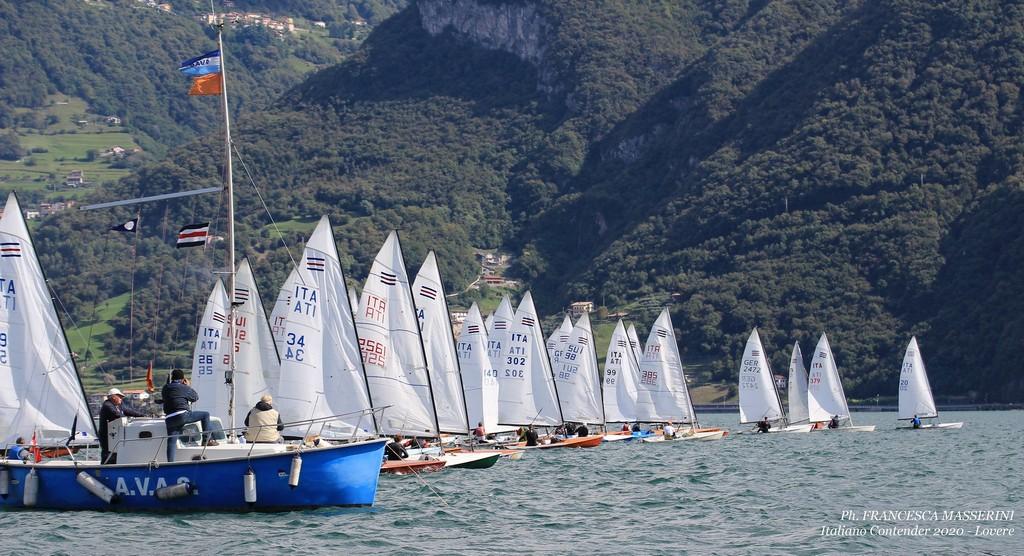 Partenza all'Italiano Contender 2020