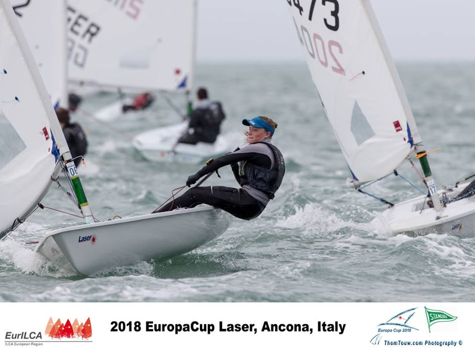 Laser Europa Cup Ancona 2018 day 4 01
