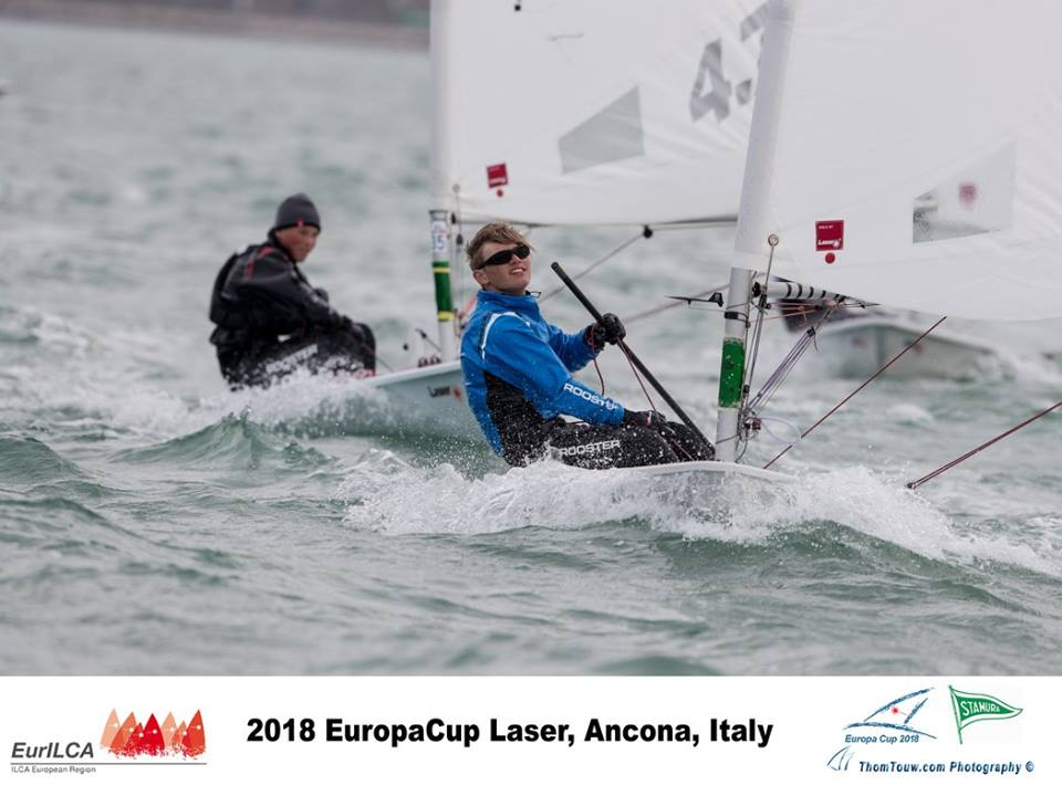 Laser Europa Cup Ancona 2018 day 4 18