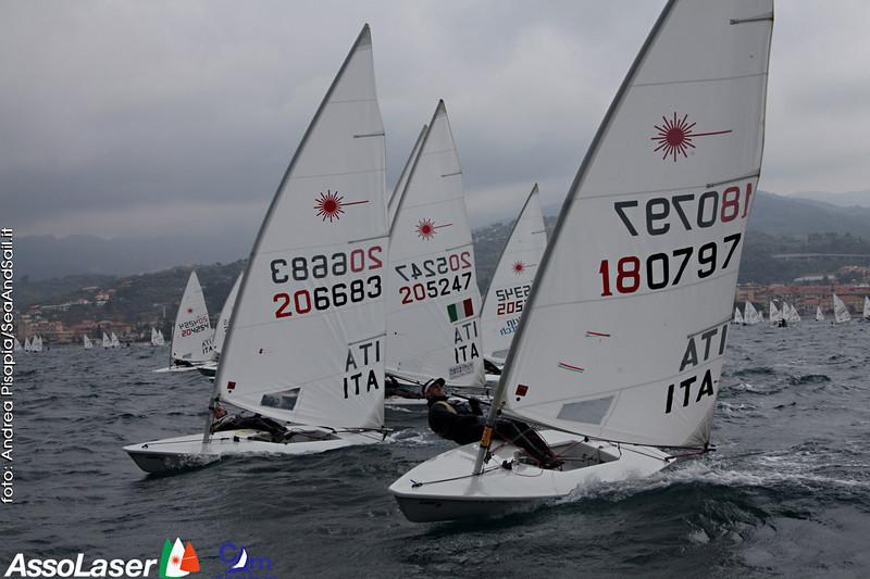 Laser Italia Cup Diano Marina 2014 Photo: © Andrea Pisapia/SpazioOrti14