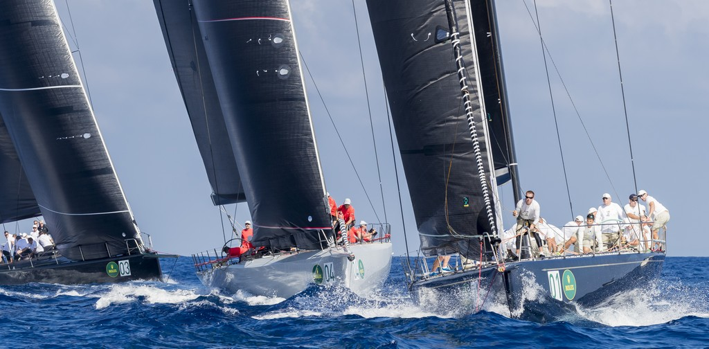 BELLA MENTE, MOMO AND JETHOU, RACING IN THE MAXI72 CLASS