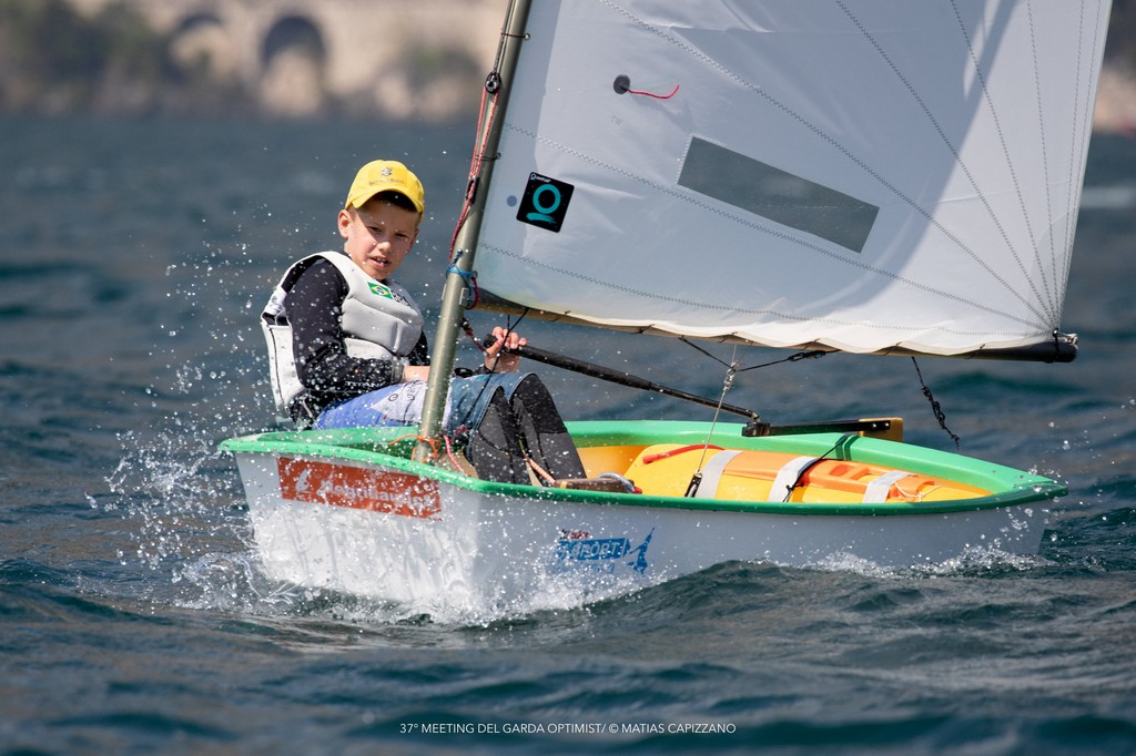 37° MEETING DEL GARDA OPTIMIST © Matias Capizzano