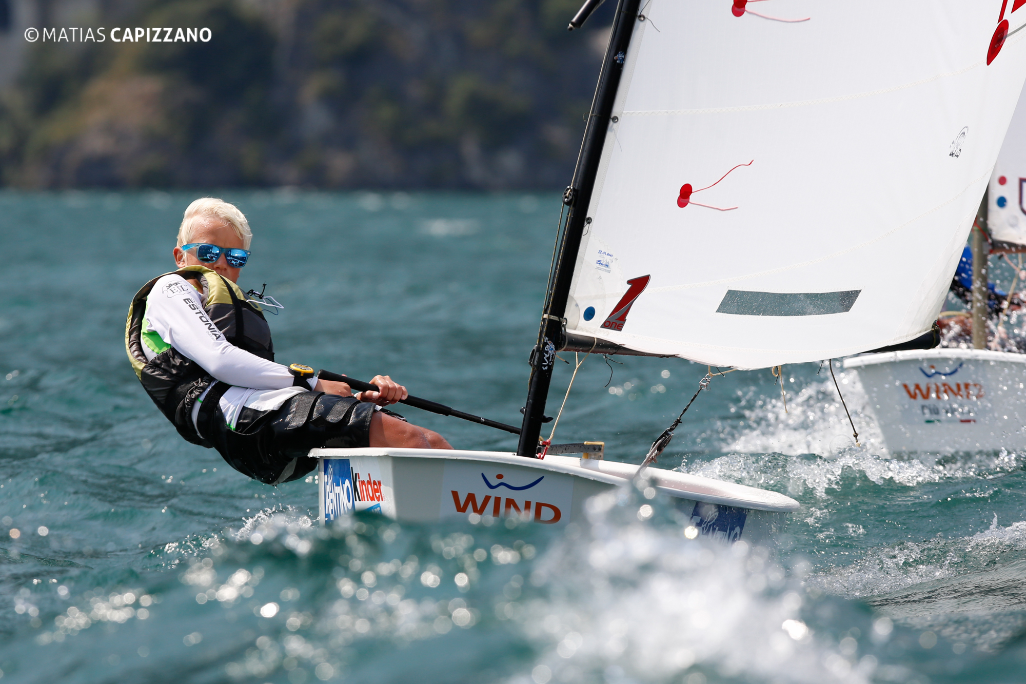Races Day 1, Optimist World Championship 2013., Italy, © Matias Capizzano