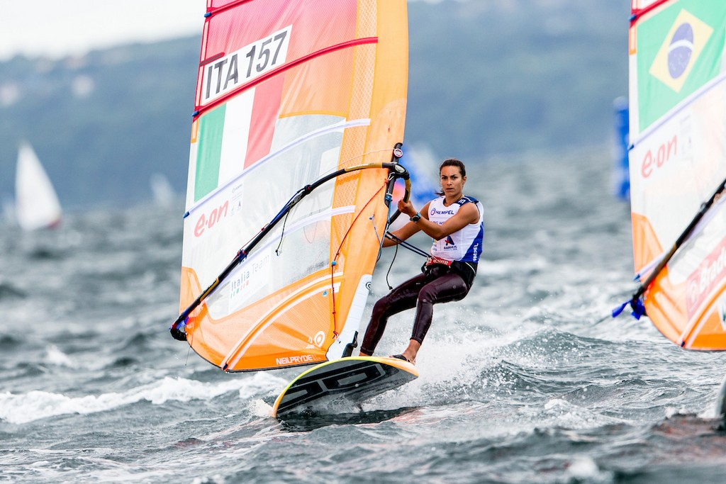 Aarhus, Denmark is hosting the 2018 Hempel Sailing World Championships from 30 July to 12 August 2018. More than 1,400 sailors from 85 nations are racing across ten Olympic sailing disciplines as well as Men's and Women's Kiteboarding.  40% of Tokyo 2020 Olympic Sailing Competition places will be awarded in Aarhus as well as 12 World Championship medals. ©PEDRO MARTINEZ/SAILING ENERGY/AARHUS 2018 05 August, 2018.
