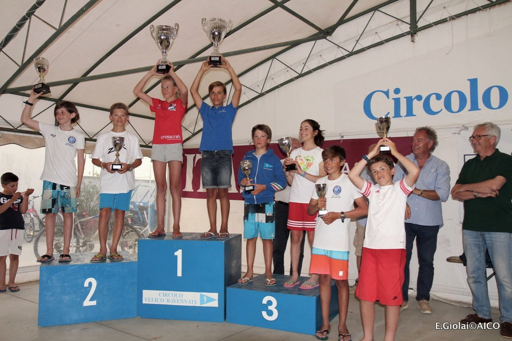 Day 2-3^ tappa Trofeo Optimist Italia Kinder + Sport 2017
