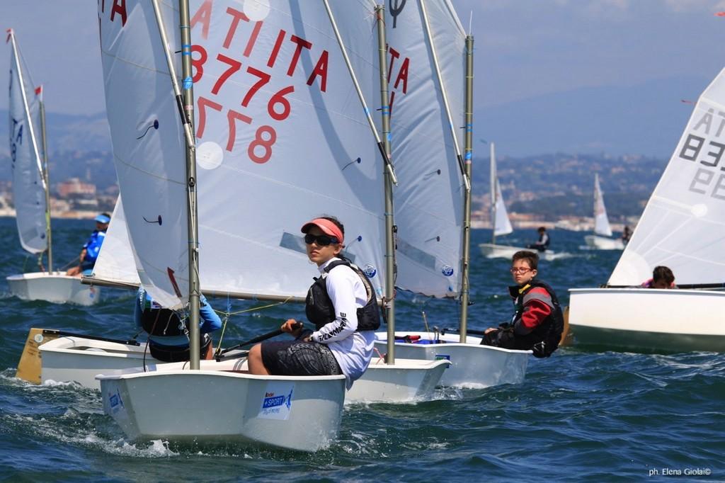Formia, II tappa Trofeo Optimist Italia Kinder + Sport 2018