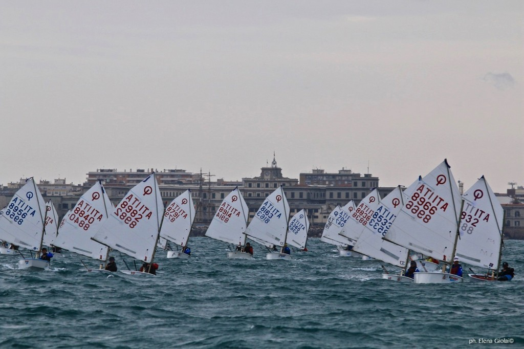 Livorno, I Tappa Trofeo Optimist Italia Kinder + Sport 2018