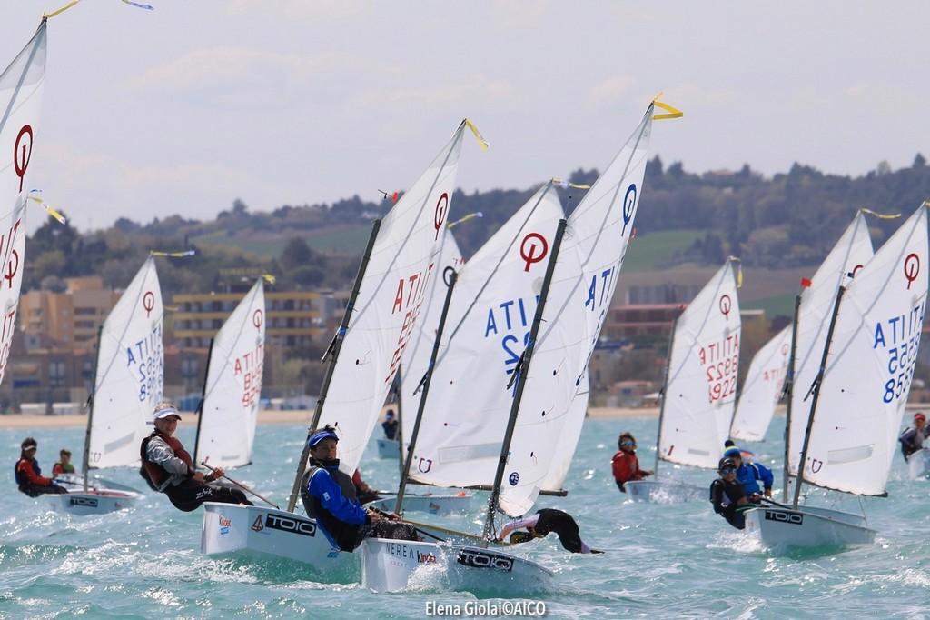Senigallia, II Tappa Trofeo Optimist Italia Kinder + Sport 2019