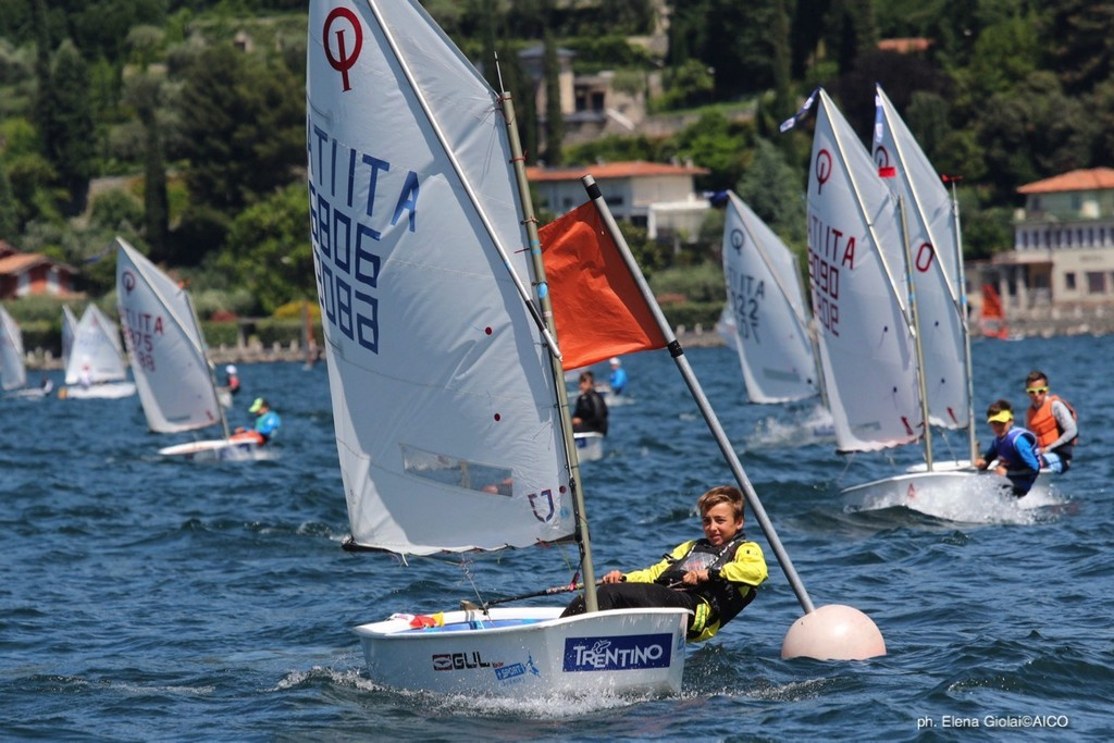 3^ tappa Trofeo Optimist Italia Kinder + Sport 2018 • Trofeo Optimist d'Argento