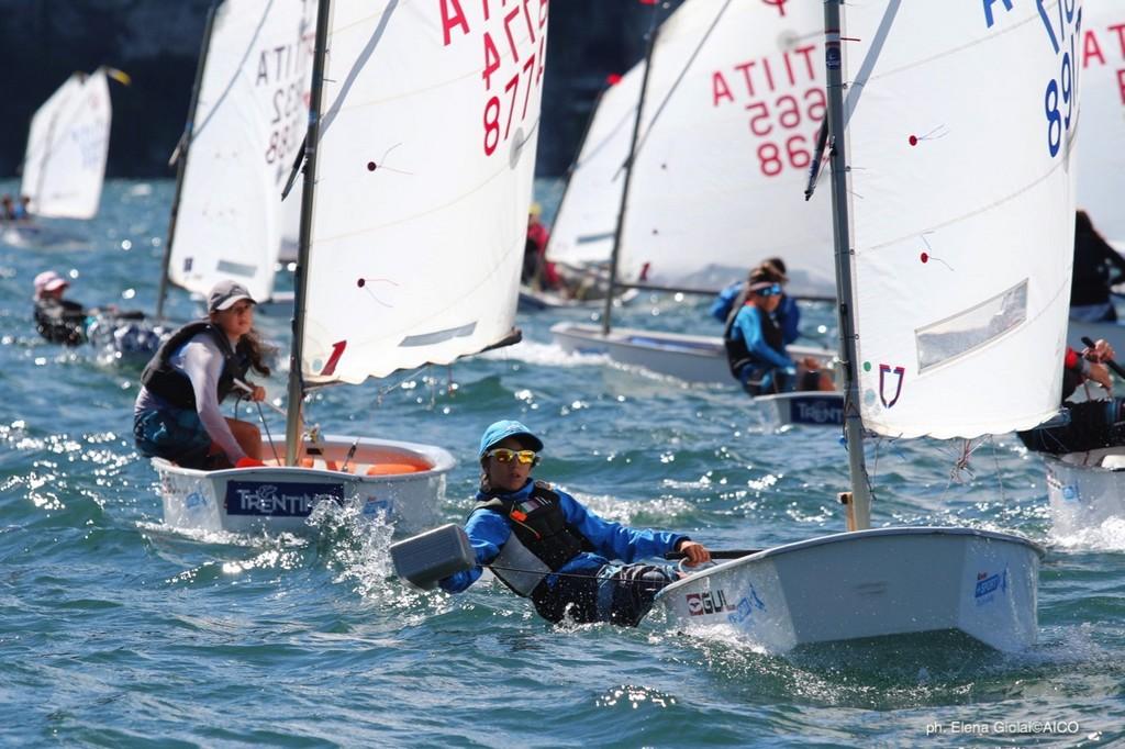 3^ tappa Trofeo Optimist Italia Kinder + Sport 2018 • Trofeo Optimist d'Argento