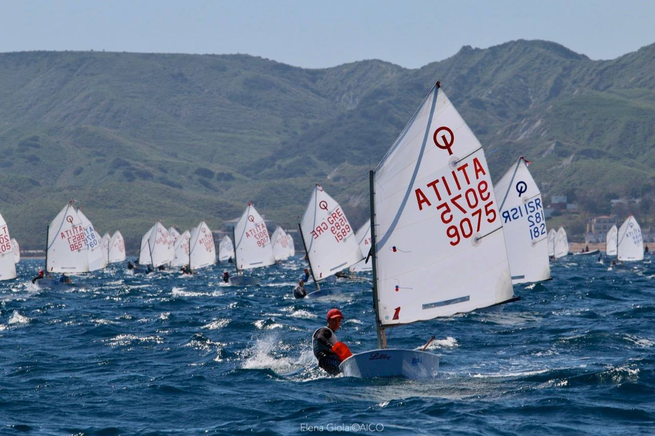 Optimist trofeo Kinder Crotone 2019 01