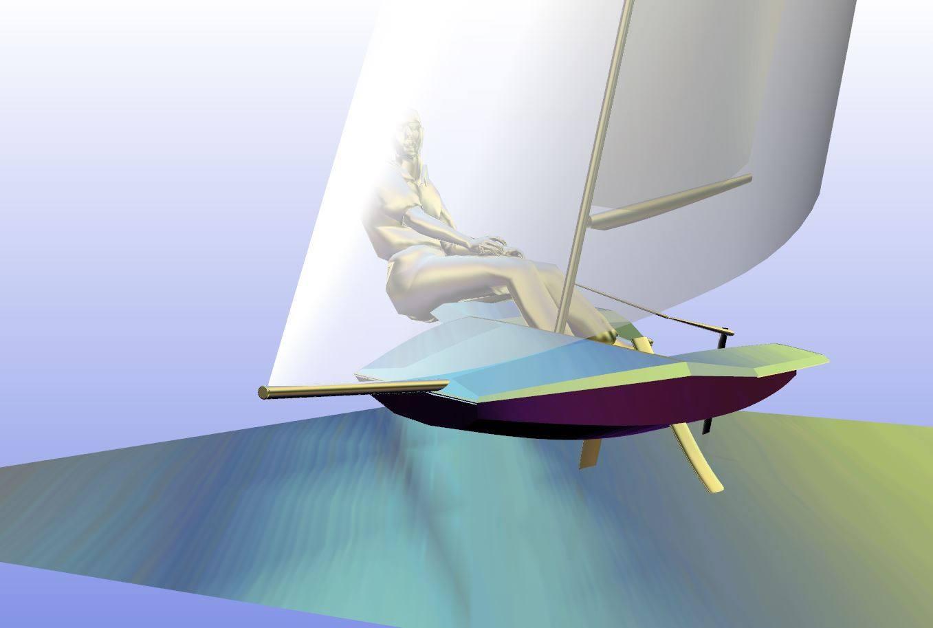 Pboats 10 ft pocket foiler 02
