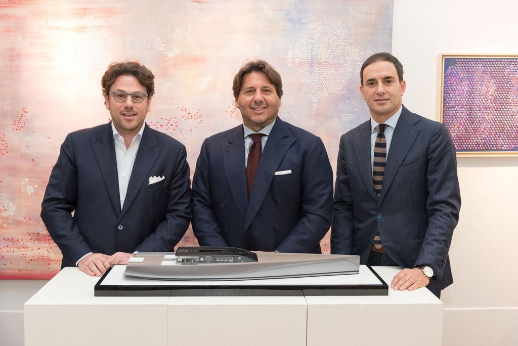 Edoardo Tabacchi, Lamberto Tacoli, Fabio Boschi Vice Presidente, Presidente e AD e Vice Presidente