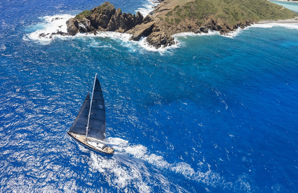 P2, Sloop, 125 ft, Class: A, Designer: Briand, Builder: Perini Navi Race Day 1
