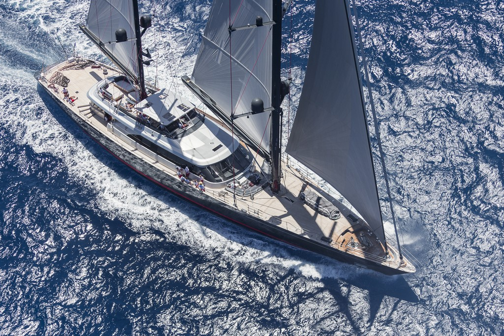 SEAHAWK, Ketch, 197 ft, Class: B, Designer: Holland, Builder: Perini Navi Day Race 1