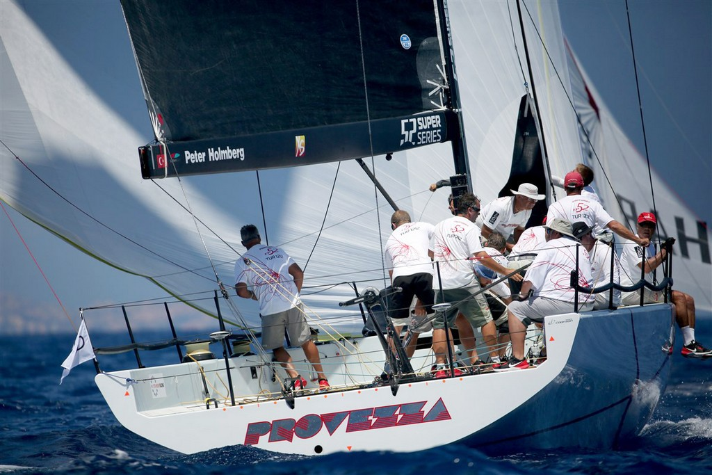 Porto Cervo 52 SUPER SERIES Audi Sailing Week day 2 01