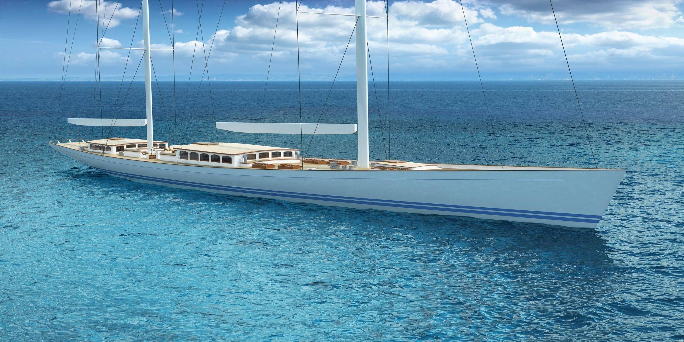 Reichel Pugh 200 Classic Superyacht 01