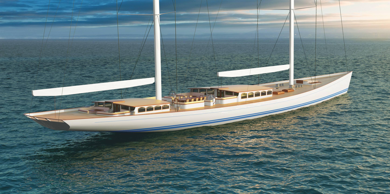 Reichel Pugh 200 Classic Superyacht 02