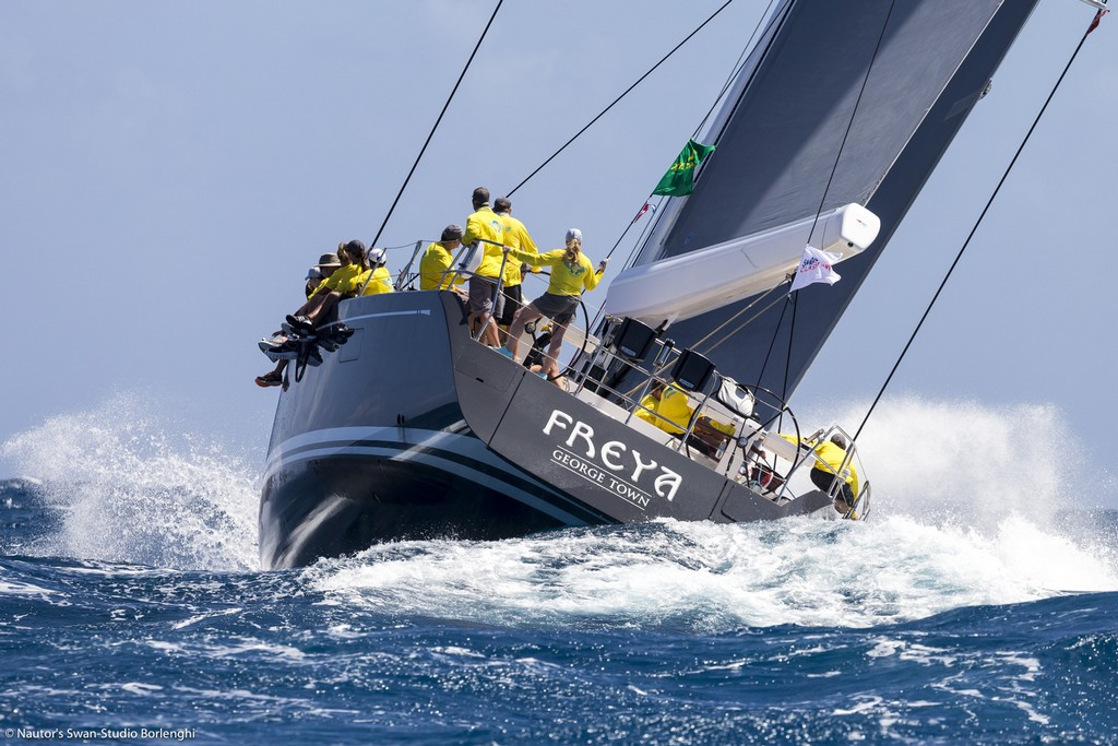 FREYA, Model: Swan 90, Sail n: 9010, Owner: Donald Macperson