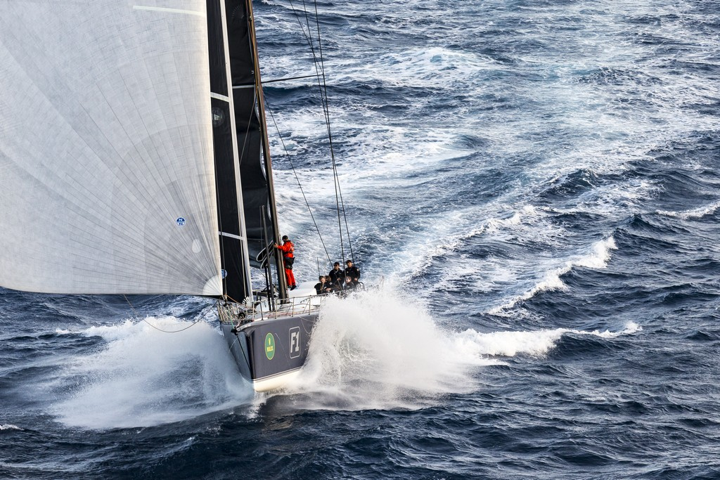 BLACK JACK, Sail n: 525100, Bow n: F1, Owner: Peter Harburg, Country: QLD, Division: IRC & ORCi, Design: Reichel Pugh 100