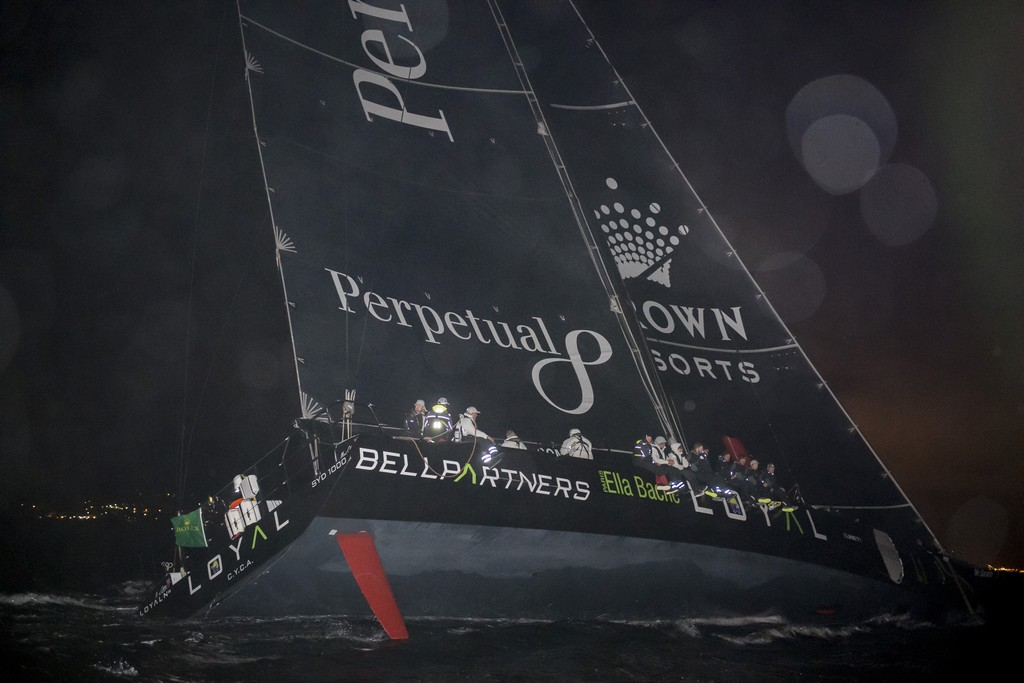 PERPETUAL LOYAL, ROLEX SYDNEY HOBART 2016 LINE HONOURS PERPETUAL LOYAL, SYD1000, L1, Owner: Anthony Bell, State / Nation: NSW, Design: Juan-K 100