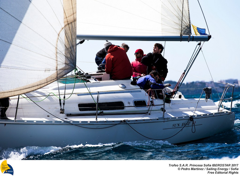 From 24th March to 1st April the bay of Palma  host the 48th edition of the Trofeo Princesa Sofia IBEROSTAR, one of the most important Olympic Classes regatta in the world. Around a 800 sailors from 45 nations will meet in Mallorca to start the Olympic path towards Tokyo 2020, in one of the most international sports event and with a higher participation in Spain. Image free of editorial rights. @Pedro Martinez / Sailing Energy / Trofeo Sofia