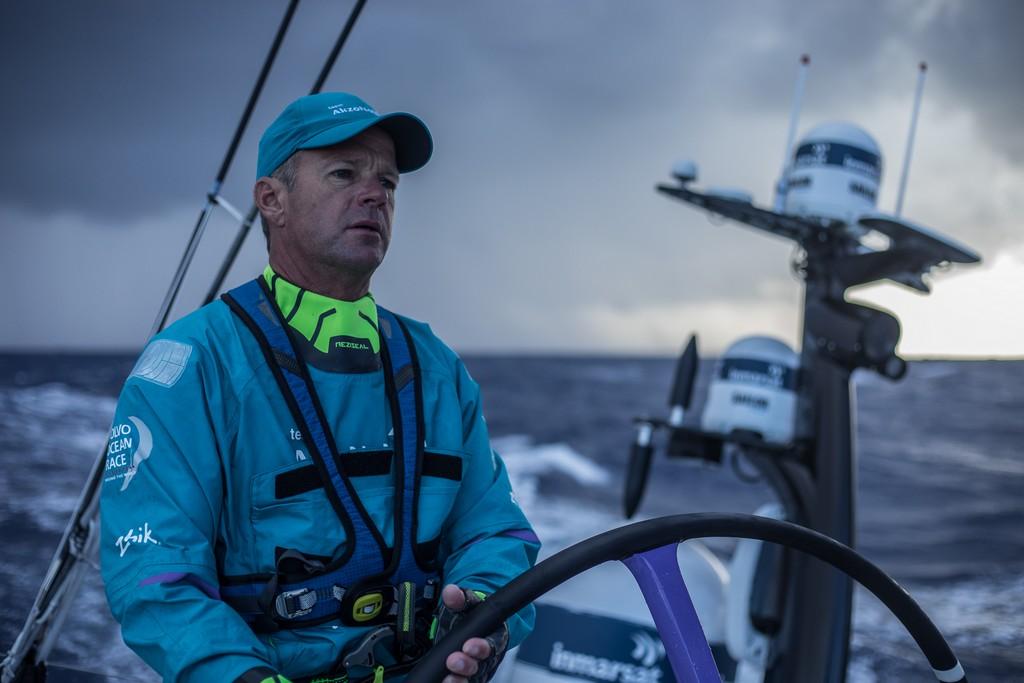 Leg 02, Lisbon to Cape Town, day xx, on board AkzoNobel. Photo by James Blake/Volvo Ocean Race. 07 November, 2017.