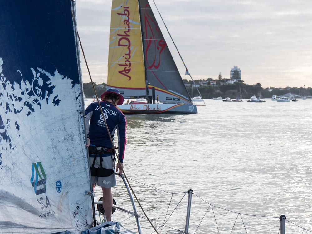 Volvo Ocean Race 2014-2015 - Leg 4 Sanya to Auckland