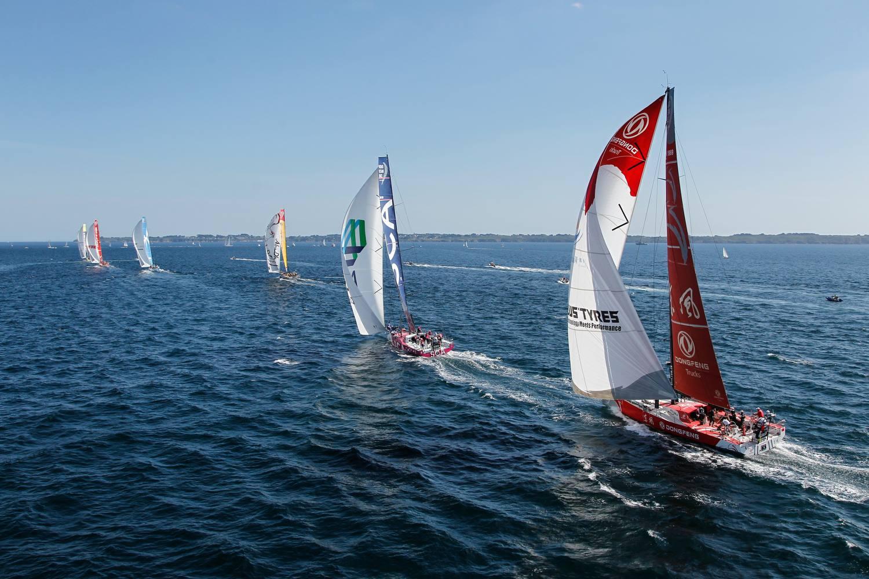 Volvo Ocean Race start leg 9 12