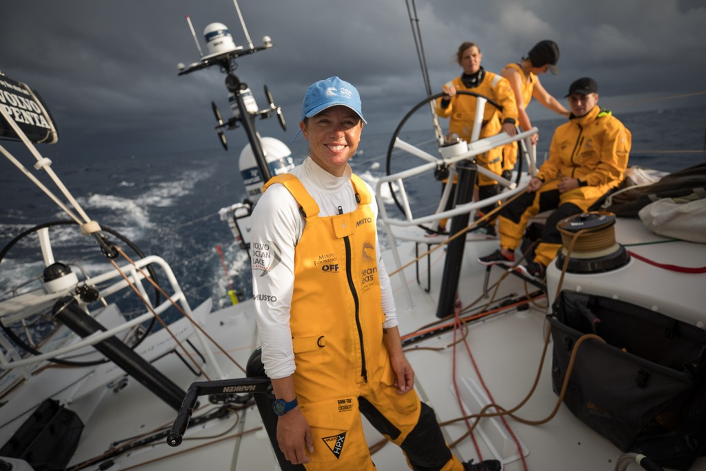 Leg 02, Lisbon to Cape Town, day 07, On board Turn the Tide on Plastic. Photo by Sam Greenfield/Volvo Ocean Race. 12 November, 2017