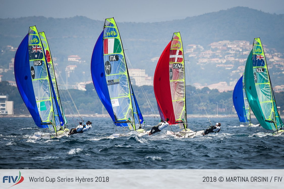 World Cup Series 2018 Hyères D2 01