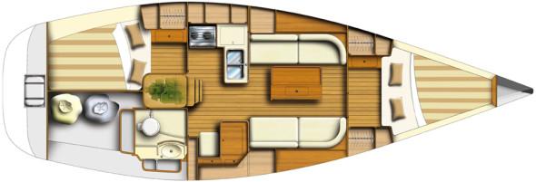 Dufour 34 03 interni