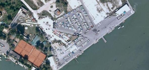 Veduta aerea Punta San Giuliano a Venezia
