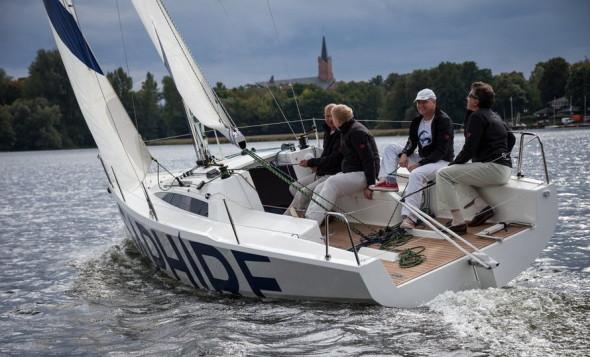 Saphire 27 in navigazione