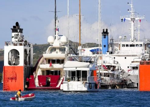 trasporto barche via nave