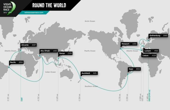 Tappe della Volvo Ocean Race 2014/2015