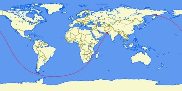 the-longest-straight-line-you-can-sail-in-the-world