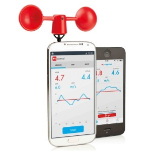 Vaavud-anemometro smartphone