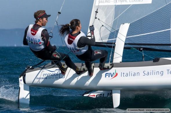 Vittorio Bissaro e Silvia Sicouri Nacra 17